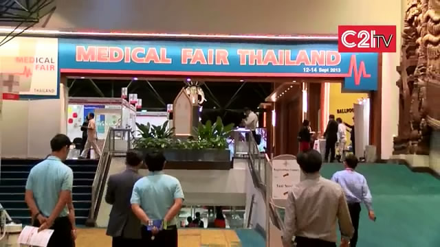 Moments & High Points From Medical Fair Thailand 2013