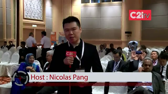 C21TV Arrives At BioMalaysia & Bioeconomy Asia Pacific Conference & Exhibition 2013